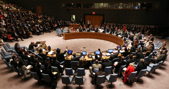 United Nations Security Council meeting about Ebola epidemic